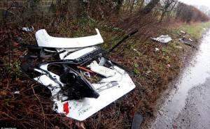 سيارات فورد تتحطم جراء حادث