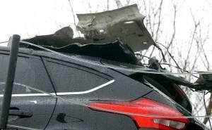 سيارات فورد تتعرض لحادث
