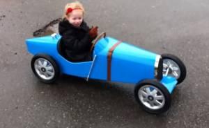 سيارة أطفال بوغاتي