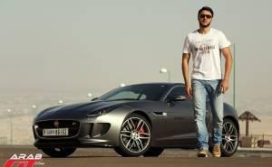 جاكوار F-Type R 2016 تحت تجربة عرب جي تي
