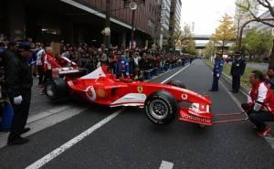 سيارة فيراري فورمولا 1 في اليابان