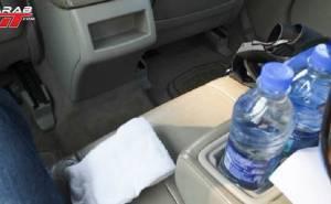 شرب المياه ضروري للقيادة