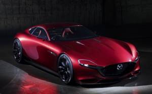 مازدا RX Vision سيارة اختبارية مميزة بمحركها الجديد