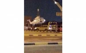 طائرة وزير الثقافة الاماراتي تتعرض لحادث