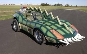 سيارة كورفيت التمساح من أفلام السبعينيات تعرض للبيع
