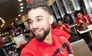لاعب الاهلي المصري عمرو السولية