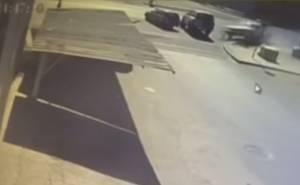 كاميرات مراقبة تسجل حادث بين 4 سيارات في السعودية