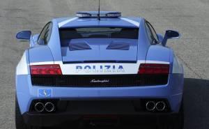 لمبرجيني جالاردو الشرطة الإيطالية