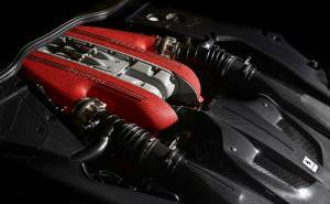 محرك فيراري F12 TDF