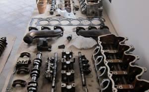أجزاء محرك مرسيدس