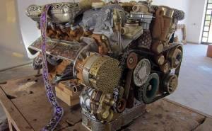 محرك مرسيدس تقليد