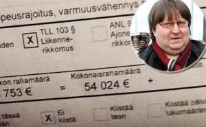 مخالفة سرعة تغرّم مليونير فنلندي مبلغاً لا يصدق