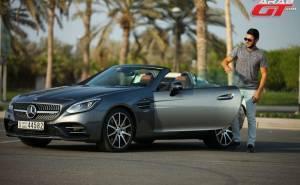 مرسيدس اس ال سي 2017 تحت تجربة عرب جي تي