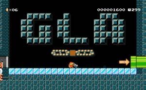 مرسيدس GLA ولعبة ماريو