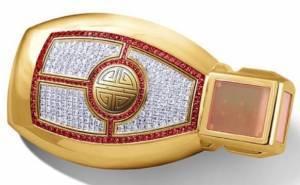 مفتاح مرسيدس من الذهب