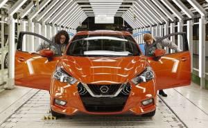 ميكرا 2017 أول سيارة نيسان يتم إنتاجها في مصنع رينو
