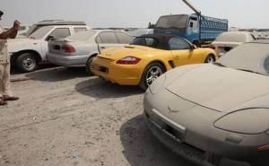 مرور دبي يقرر حجز السيارات التي ترتكب مخالفات باهظة