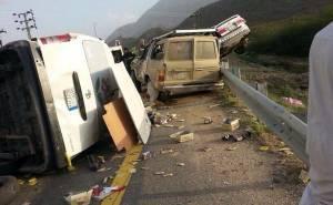 حادث مميت في السعودية