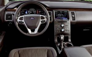 فورد فليكس-2014 Ford Flex-دركسيون-لوحة عدادات-طبلون-مقود