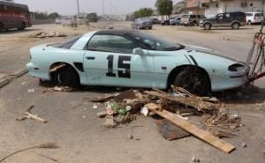 سيارات سوبر كار محطمة في سيول مكة