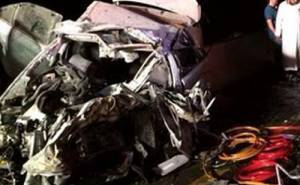 Toyota Camry crash in Saudi Arabia