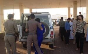 السلطات السعودية تغلق محطة وقود 2