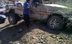 Toyota accident in Saudi Arabia