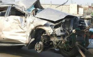 مصرع 3 واصابة 7 من نفس العائلة في حادث شنيع في السعودية-من الامام