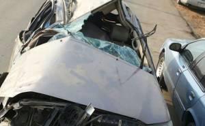 مصرع 3 واصابة 7 من نفس العائلة في حادث شنيع في السعودية-من الاعلى