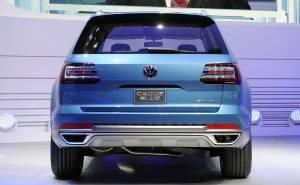 Volkswagen CrossBlue Concept rear
