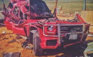 سعودي يلقى مصرعه بعد تعرض سيارته لحادث