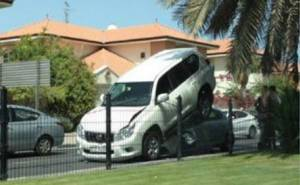 سيارة تعلق تحت لاندكروزر
