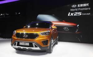 Hyundai ix25 concept SUV