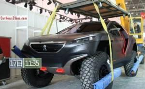 سيارة بيجو 2008 DKR