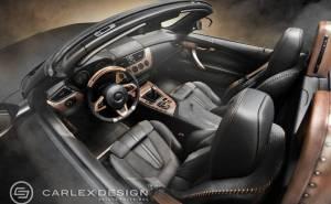 Carlex Design تمنح بي ام دبليو Z4 تعديل المحركات البخارية