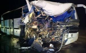 باص طالبات يتعرض لحادث في السعودية