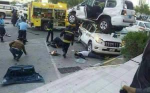 Toyota car accident