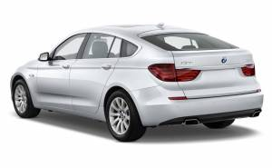2010 BMW 5 Series Gran Turismo-الفئة الخامسة غران توريزمو 2010 من الخلف