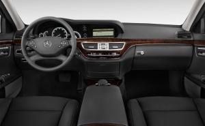 2012 Mercedes-Benz S-Class مرسيدس اس كلاس-طبلون-من الداخل
