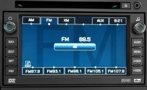 النظام الصوتي في داخلية جي ام سي يوكون 2013