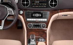 Mercedes-Benz SL Class 2013 مرسيدس اس ال كلاس-تابلوه-طبلون