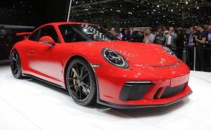 بورش 911 GT3 موديل 2018 تكشف عن نفسها