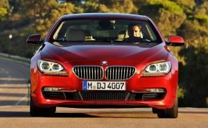 بي ام دبليو الفئة السادسة كوبيه BMW 6 Series Coupe 2012-الواجهة الامامية