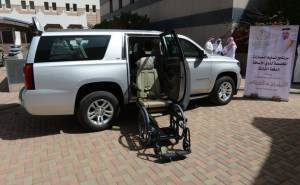 سيارات ذوي الاحتياجات الخاصة