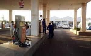 السلطات السعودية تغلق محطة وقود 6