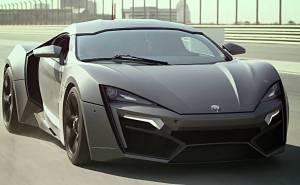اول سيارة عربية فائقة تستعرض اداءها على حلبة دبي اوتودروم