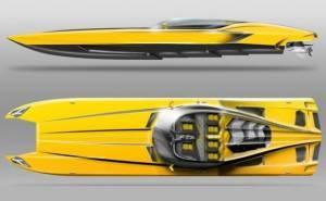 قارب لمبرجيني بسعر 1.3 مليون دولار