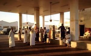 السلطات السعودية تغلق محطة وقود 3