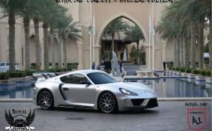Porsche Cayman الفا 1 المعدلة عن بورش كايمان
