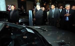 سيارات الرئيس التونسي المخلوع في المزاد